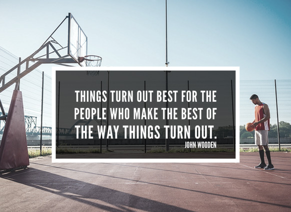 John Wooden motivational quotes